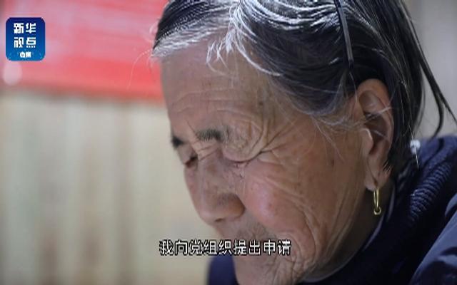 93岁老人的入党申请书